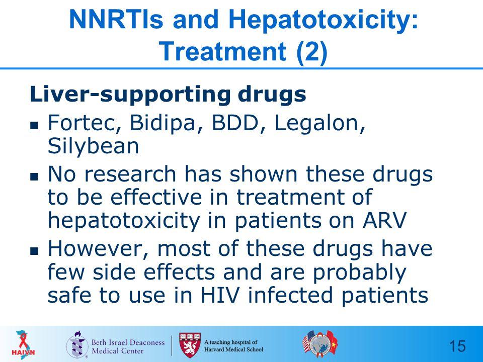 1 Hepatic Toxicity in Patients Taking ARVs HAIVN Harvard