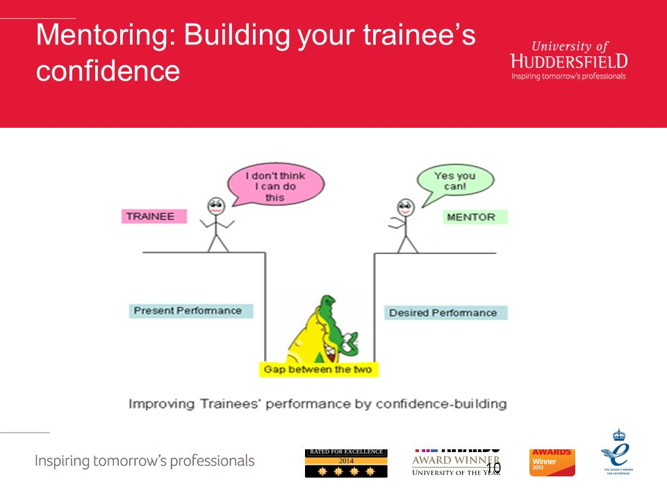 Mentoring: Building your trainee's confidence 10