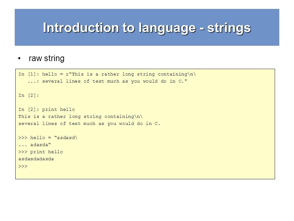Python Crash Course strings, math 3 rd year Bachelors V1 0
