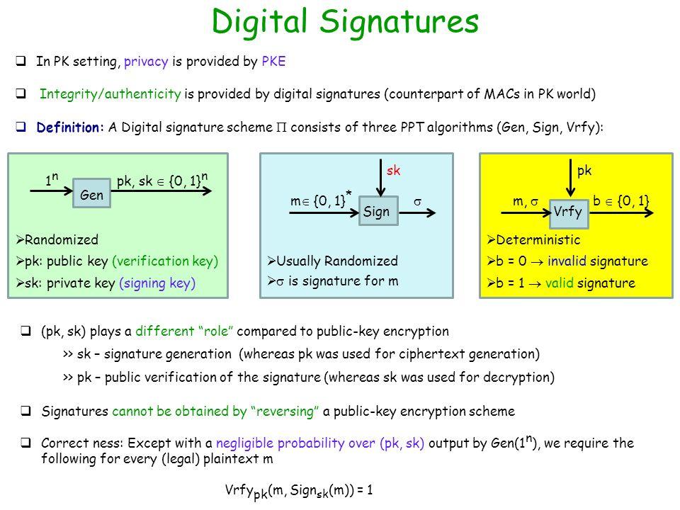 Digital signature standard ppt.