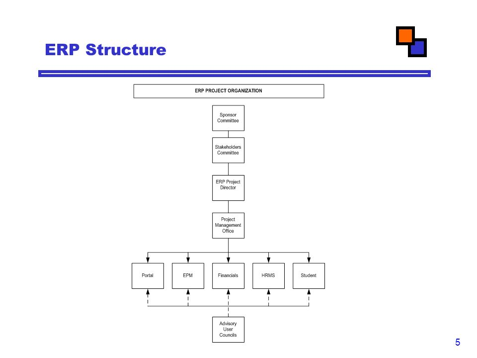 5 ERP Structure