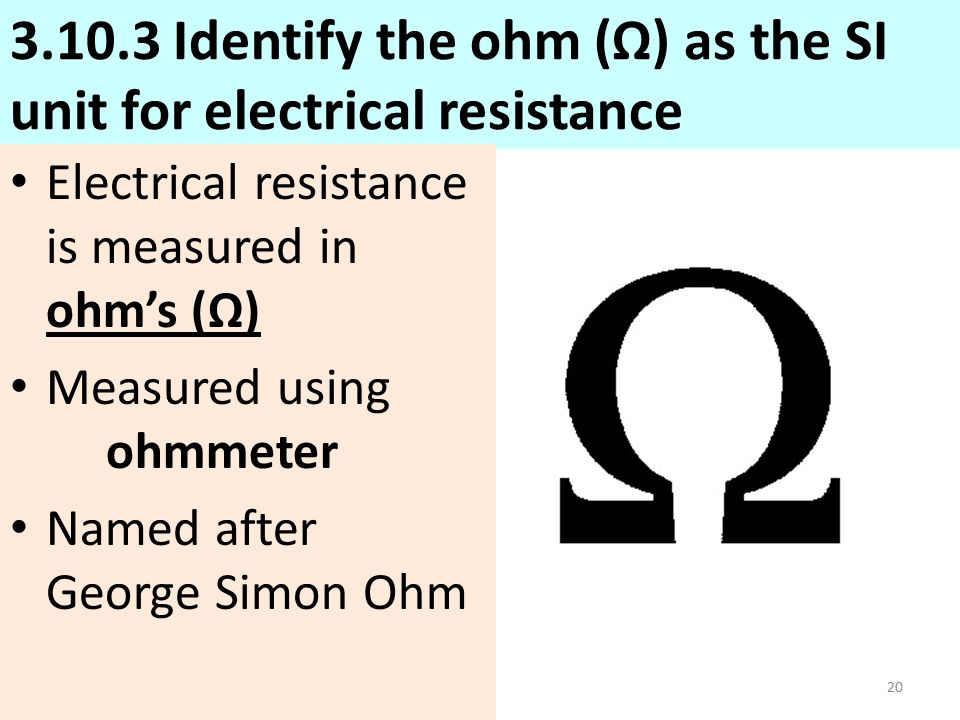 Chapter 8 Ohms Law Describes The Relationship Of Current Voltage