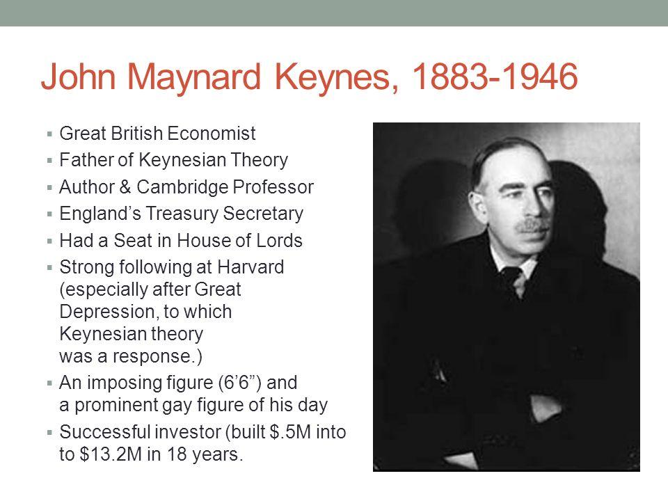 lord john maynard keynes