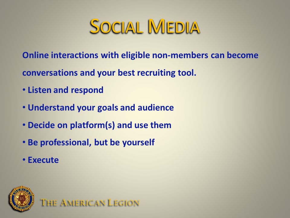 Online interactions with eligible non-members can become conversations and your best recruiting tool.