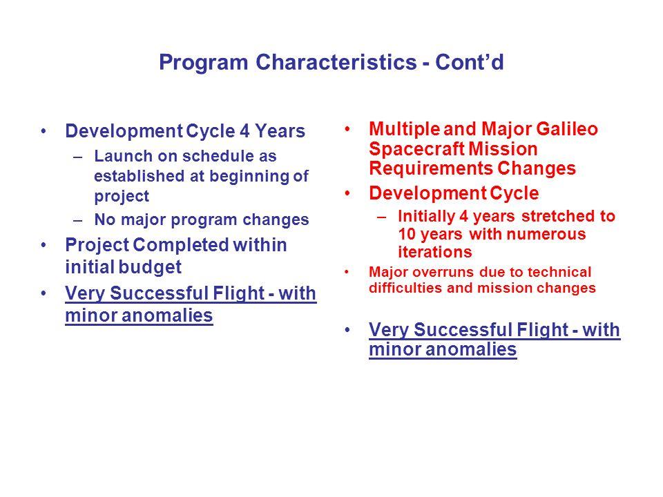 Pioneer Venus & Galileo Probe Development: Comparison/Assessment ...