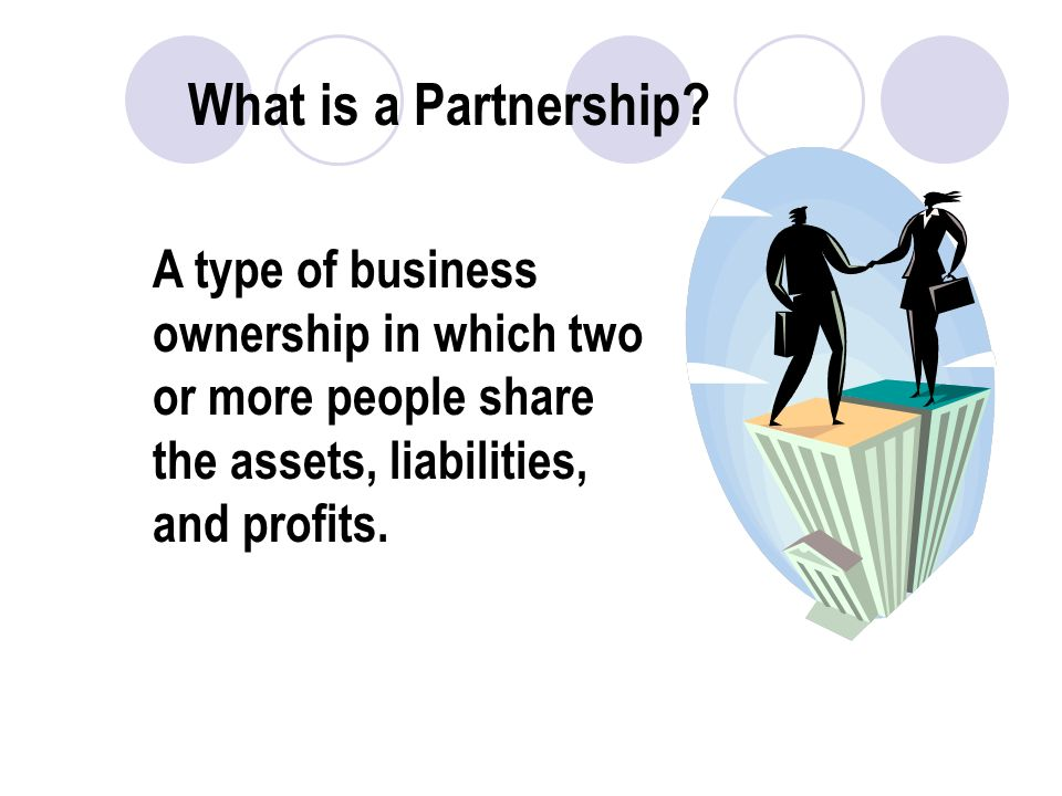 What is a Partnership.