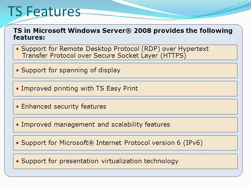 Implementing and Configuring Microsoft ® Windows Server ® 2008