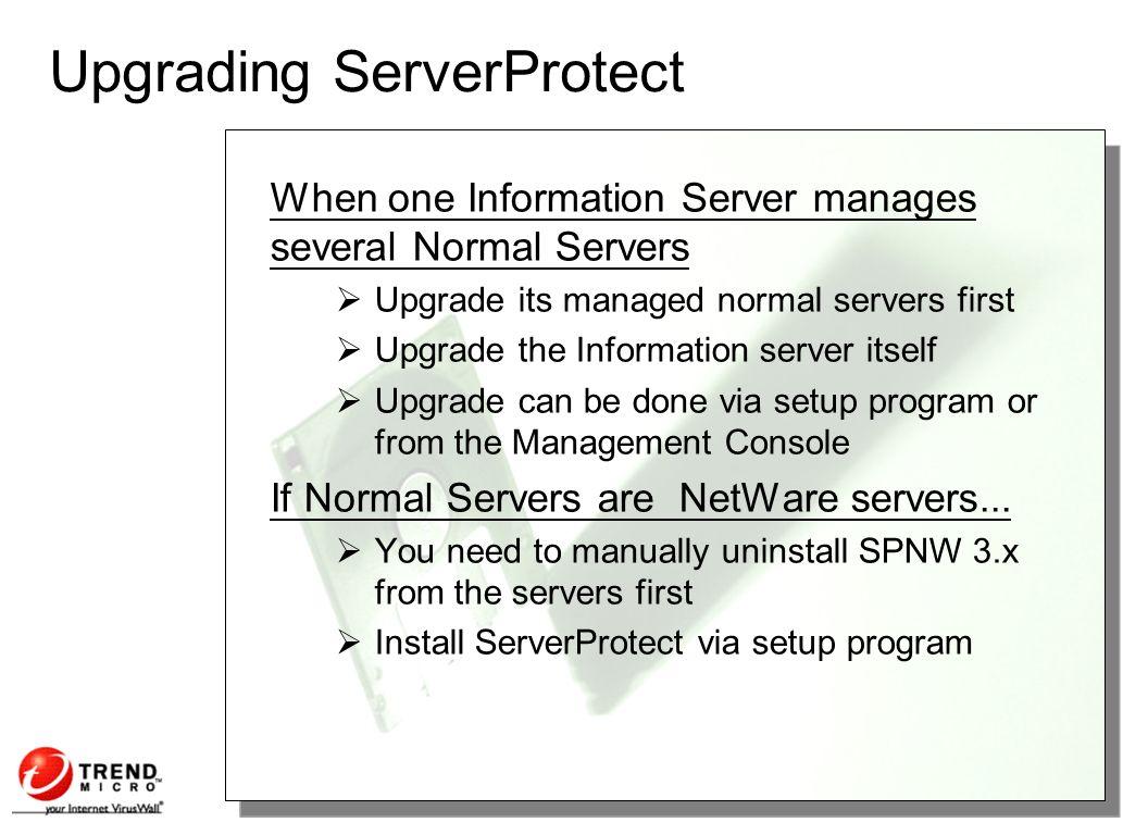 ServerProtect 5 for NT and NW Jennifer O  Chua January 2001 TDSC