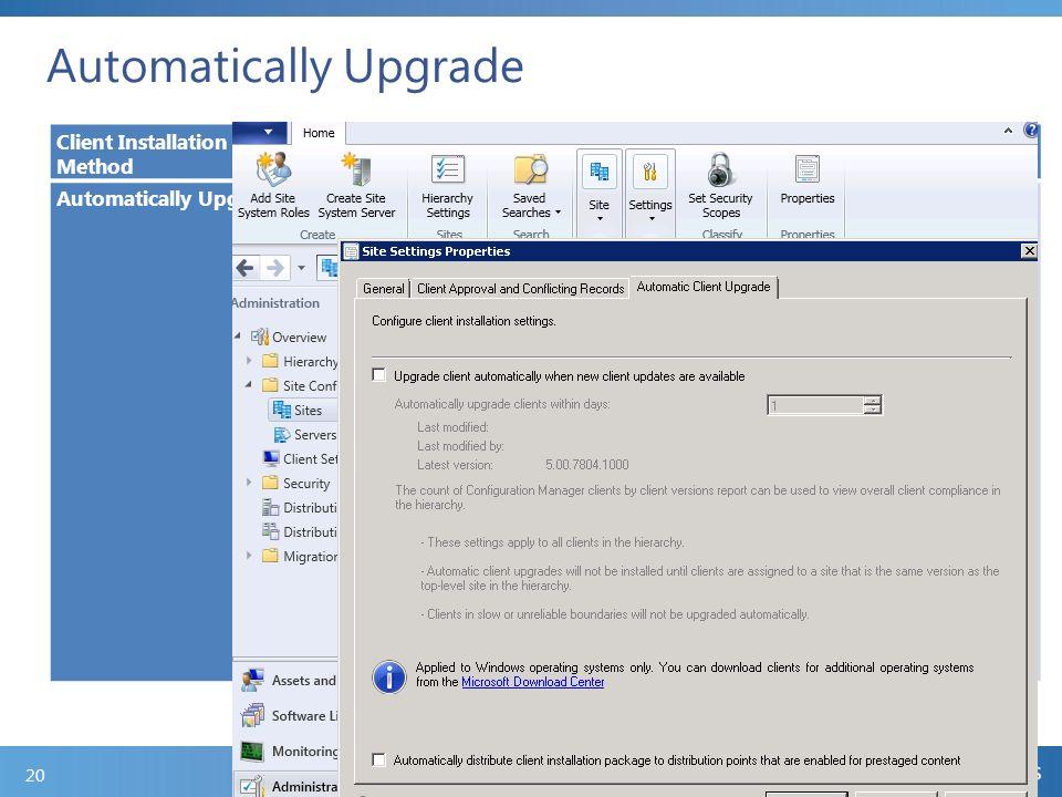 client installation methods