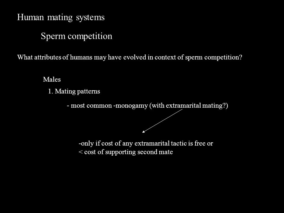 Attributes of sperm