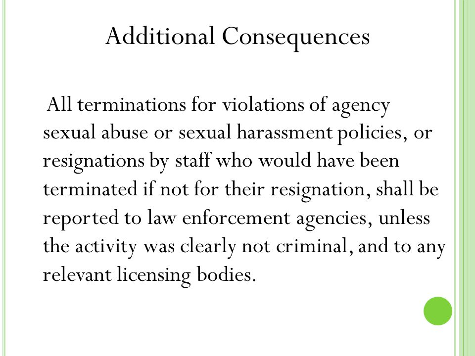 Intransitive verb 5 examples of sexual harassment