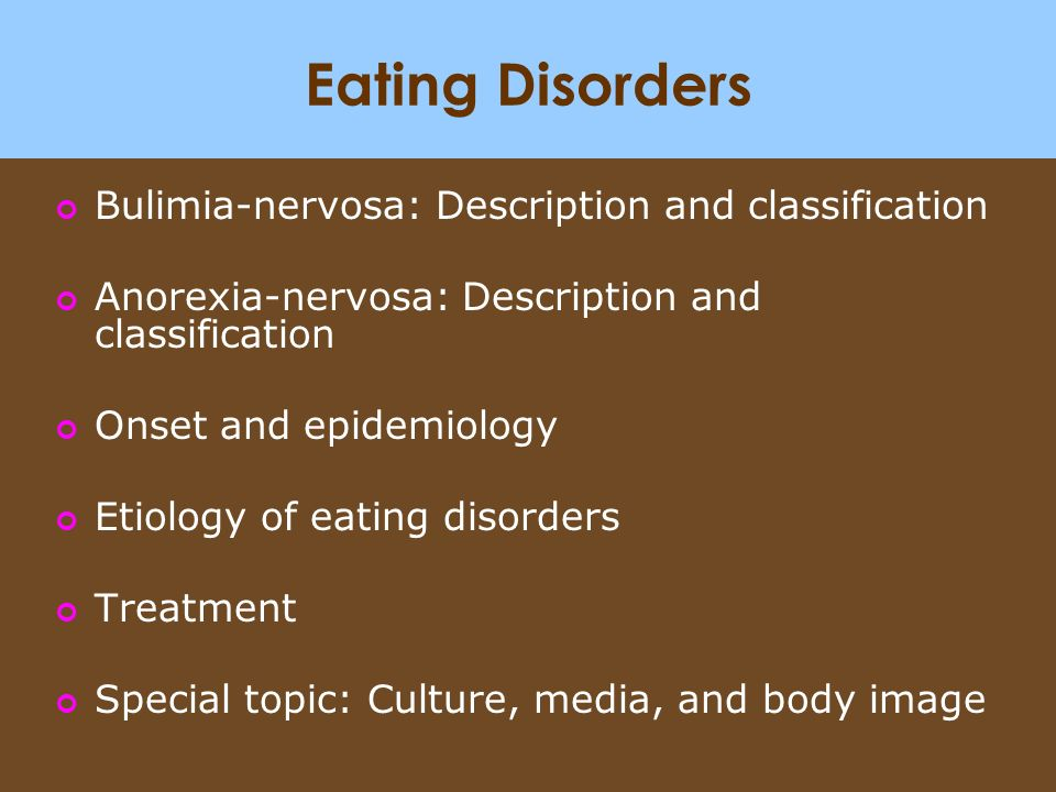 media appearance and eating disorders essay Subject: mass media, eating university/college: university of arkansas system there are two ways by which media may affect a person's perception of physical appearances in eating disorders refer to conditions describing a person's food consumption behaviors that are considered abnormal.