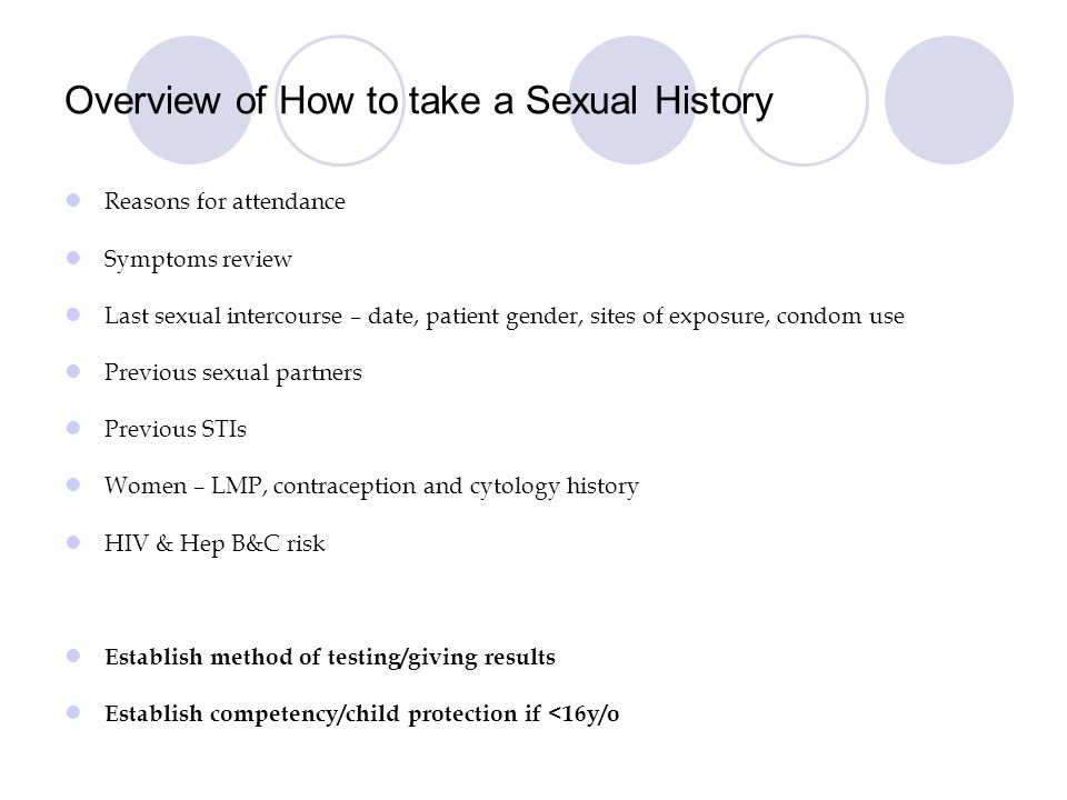 History sexual protection opinion