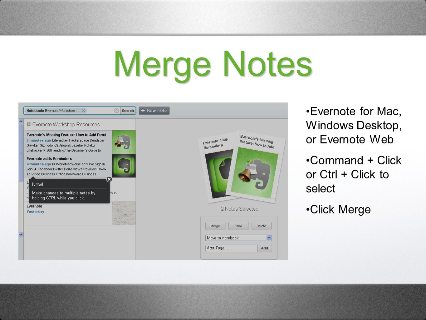 How To Get Insanely Organized With Evernote Unleash the