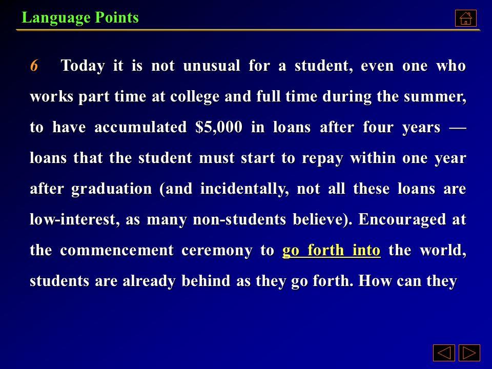 economic pressure for college students