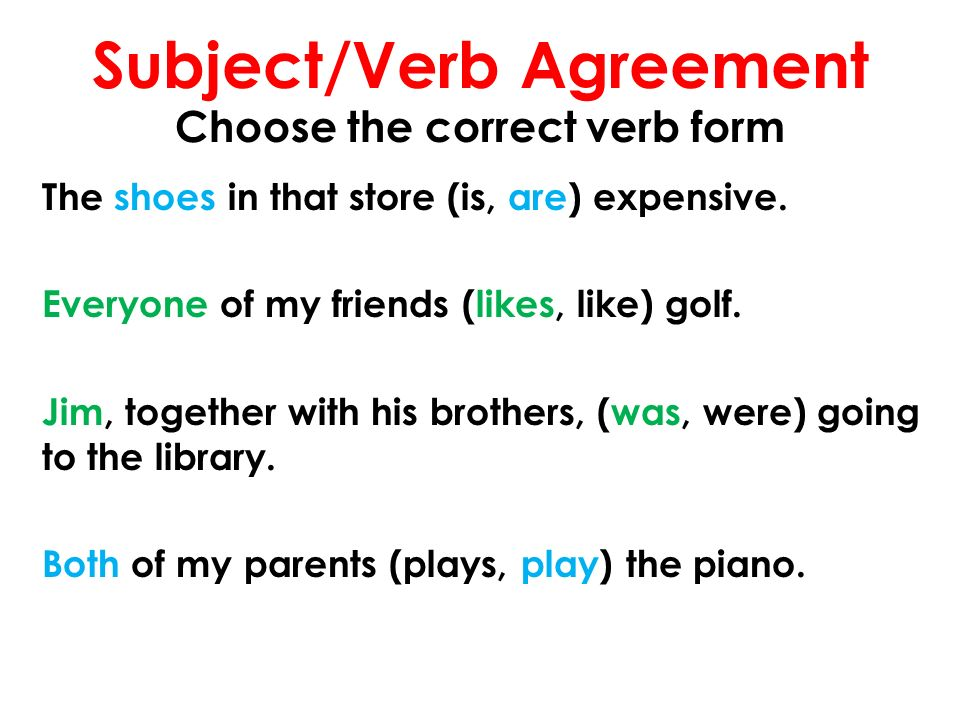 English 9 Mr Rinka Lesson 39 Subjectverb Agreement The Call Of