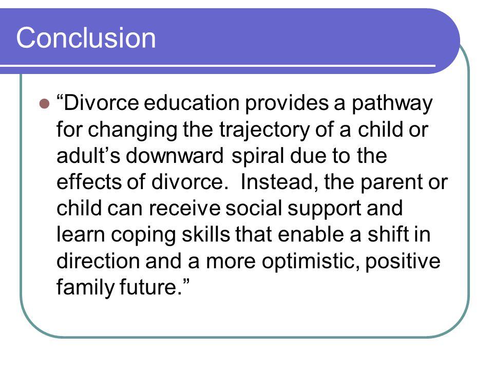 conclusion divorce
