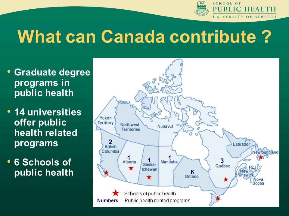 What can Canada contribute .