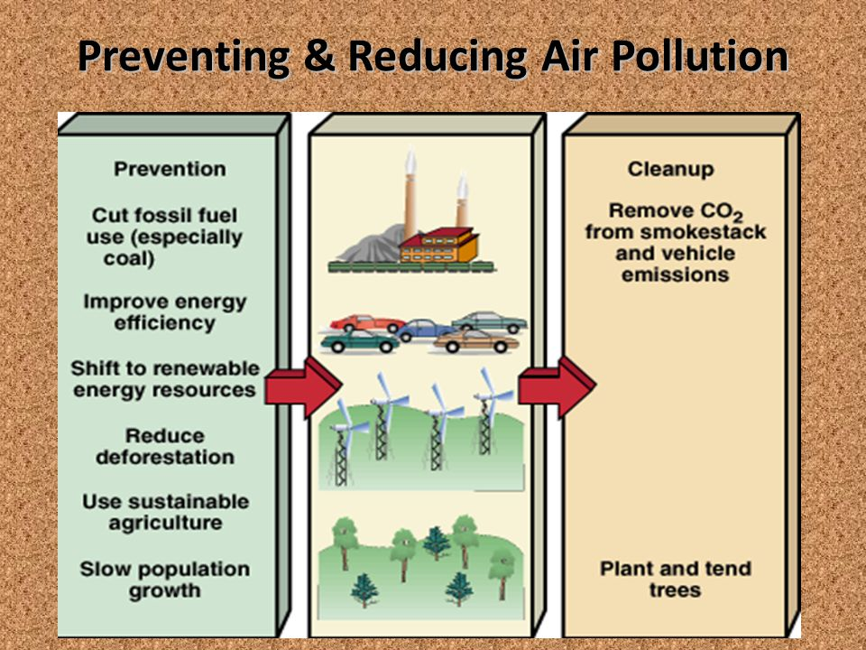 Preventing & Reducing Air Pollution