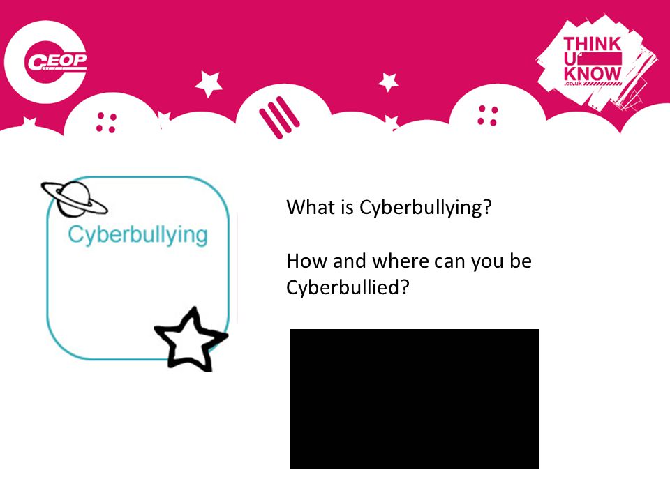What is Cyberbullying How and where can you be Cyberbullied