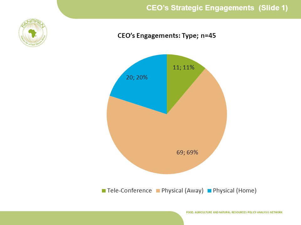 CEO's Strategic Engagements (Slide 1)