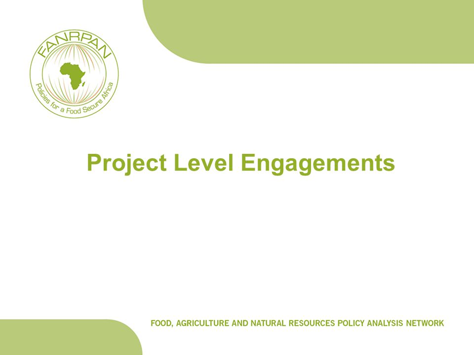 Project Level Engagements