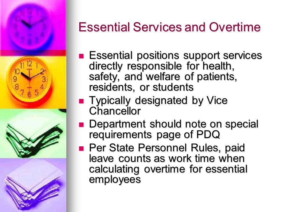 The Fair Labor Standards Act (FLSA) Employment Services ppt