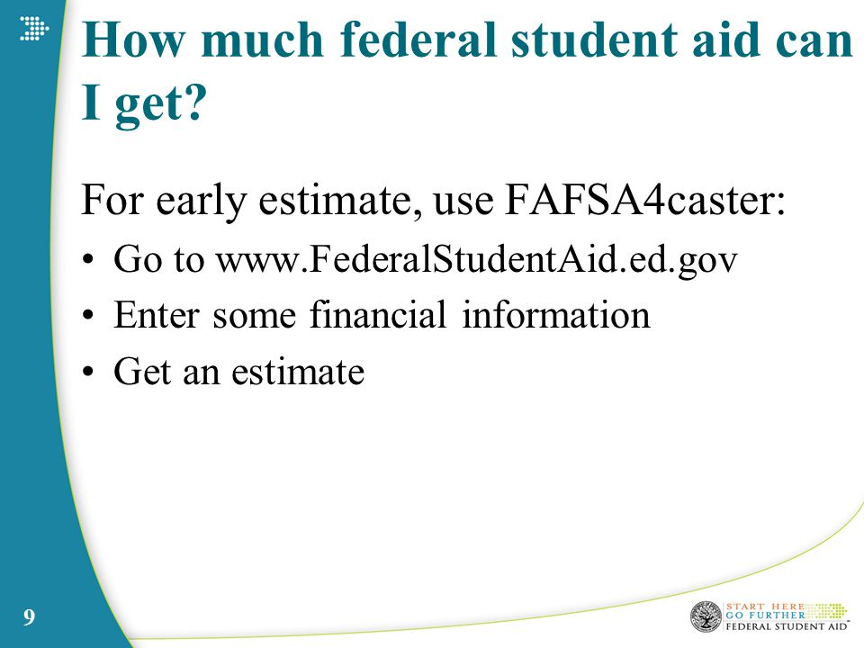 9 How much federal student aid can I get.