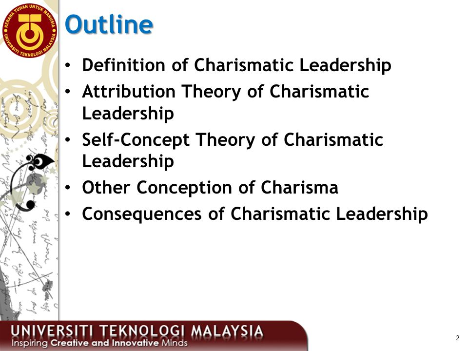 self concept theory of charismatic leadership