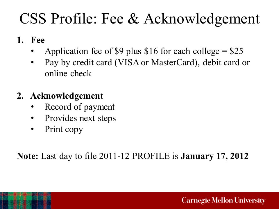 Financial Aid Application Process for Presented by… The HUB