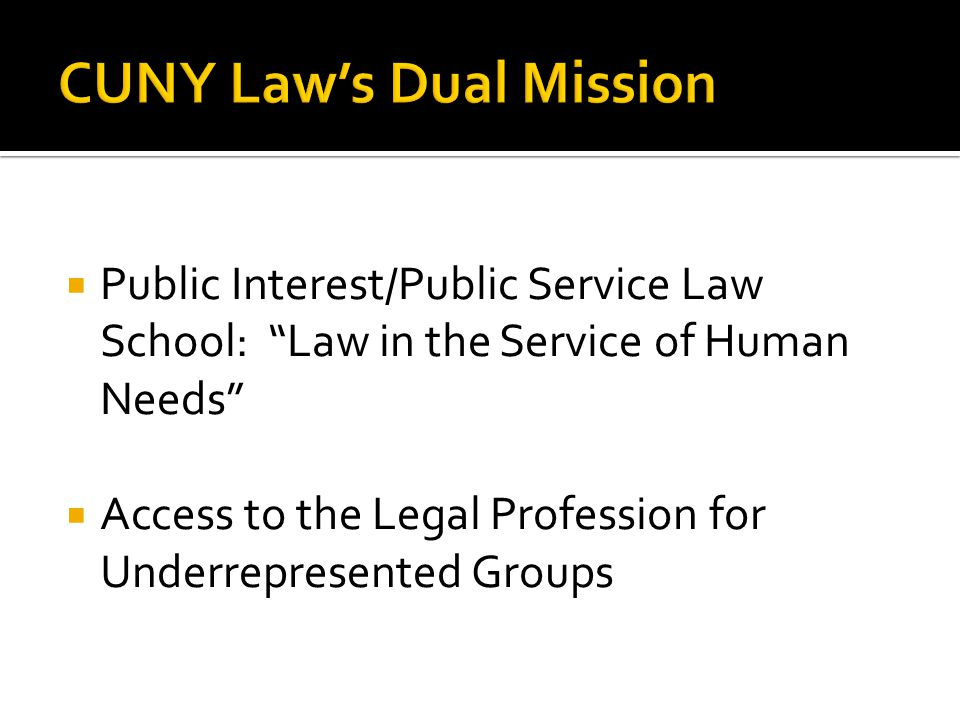 City University of New York (CUNY) School of Law Natalie