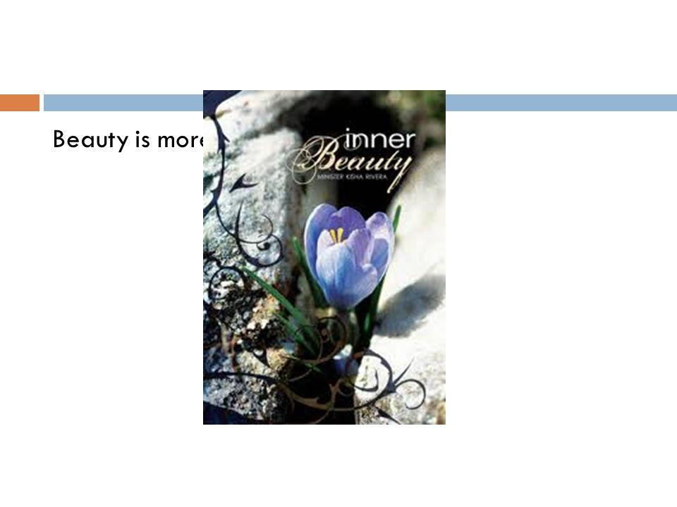 beauty is skin deep speech