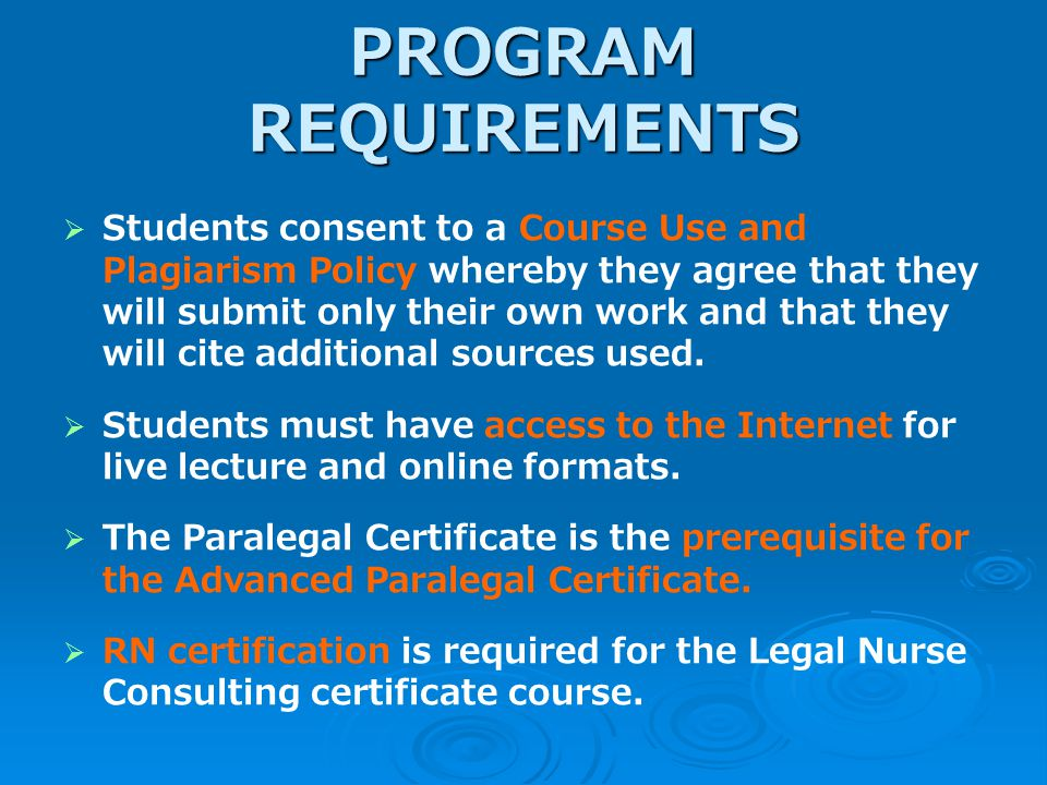 Legal Studies Courses Offered In Live Online And Correspondence
