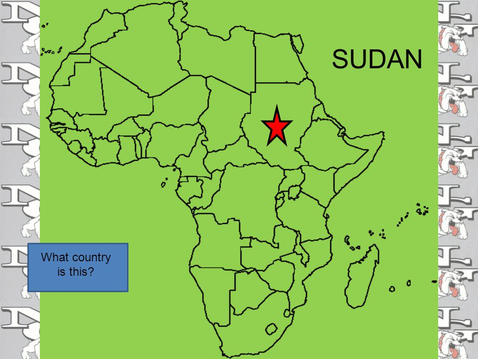 What country is this SUDAN