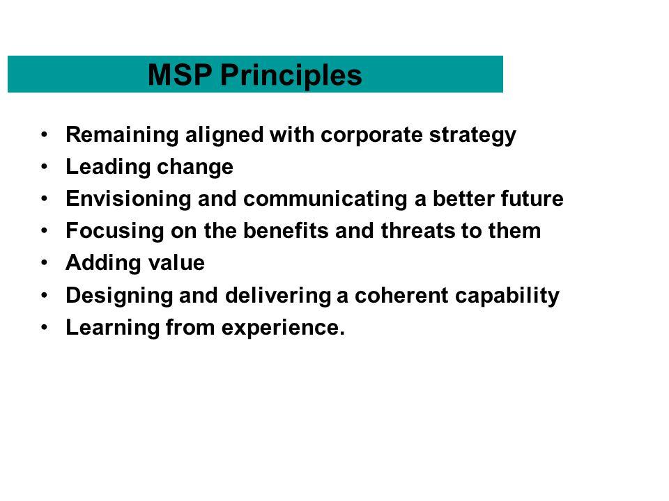 Ogcs managing successful programmes msp purpose of msp to provide 3 msp principles malvernweather Choice Image