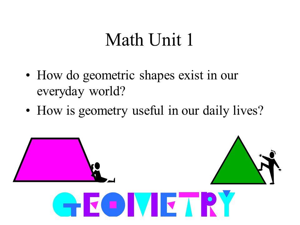 everyday geometry
