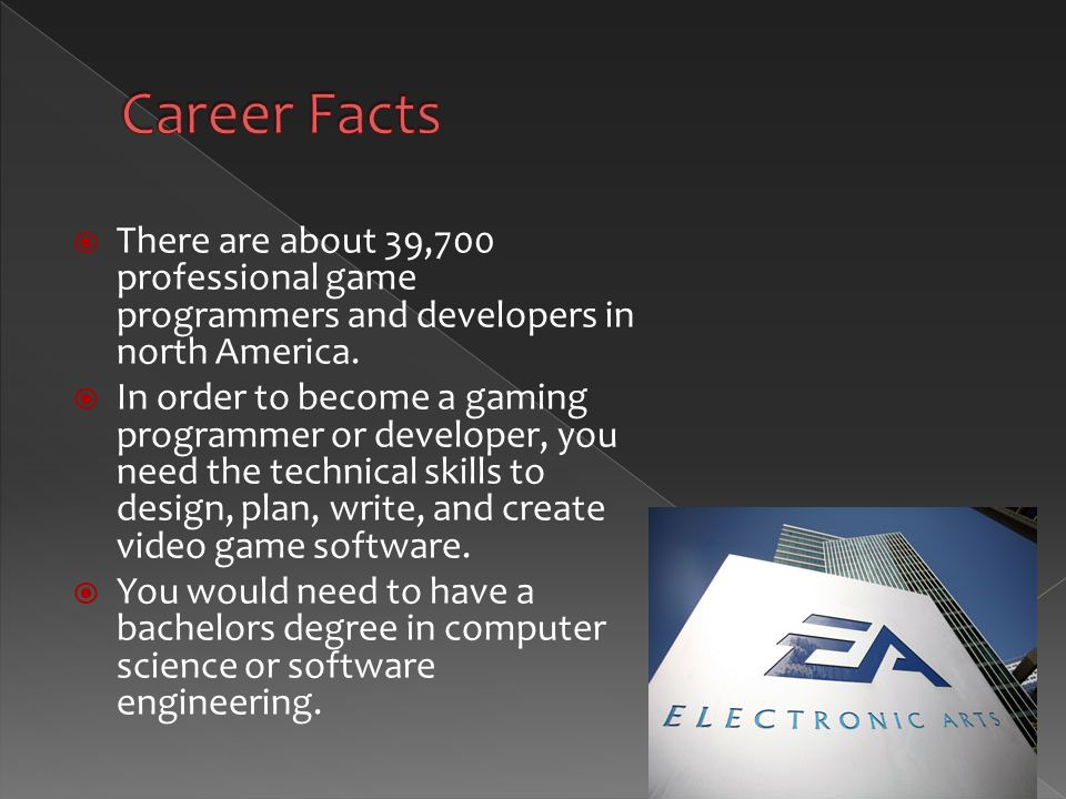 A Game Developer Is A Software Engineer Programmer Or Computer Scientist Who Primarily Develops Codebase For Video Games Or Related Software In Ppt Download