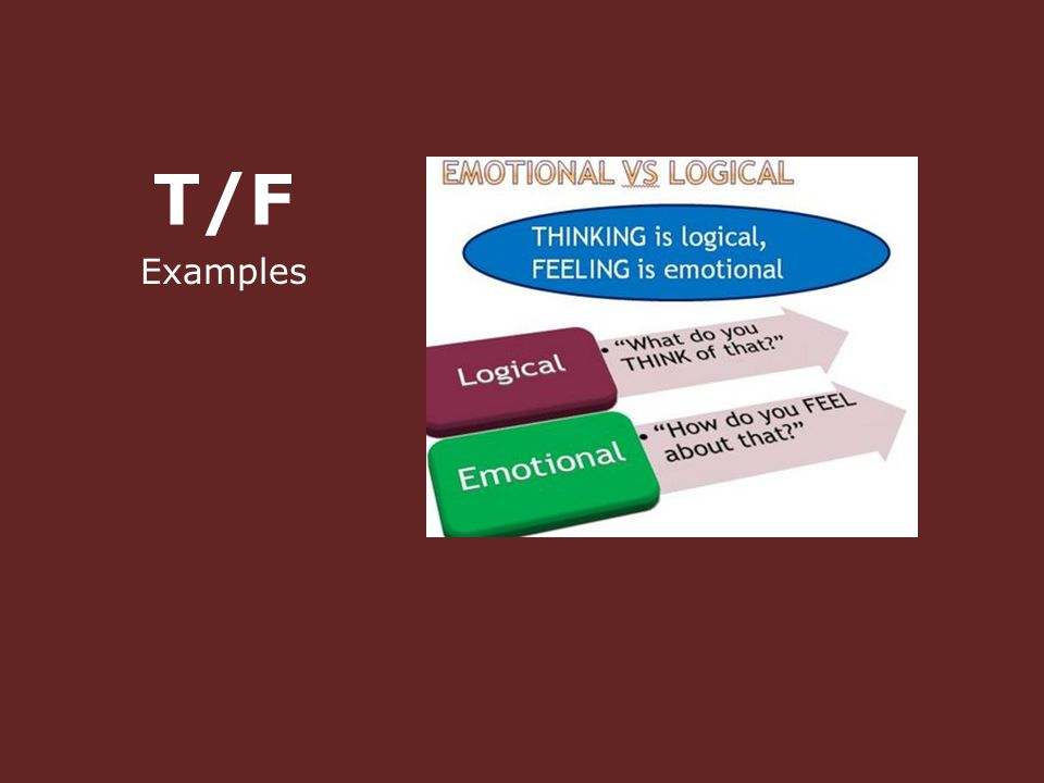 T/F Examples