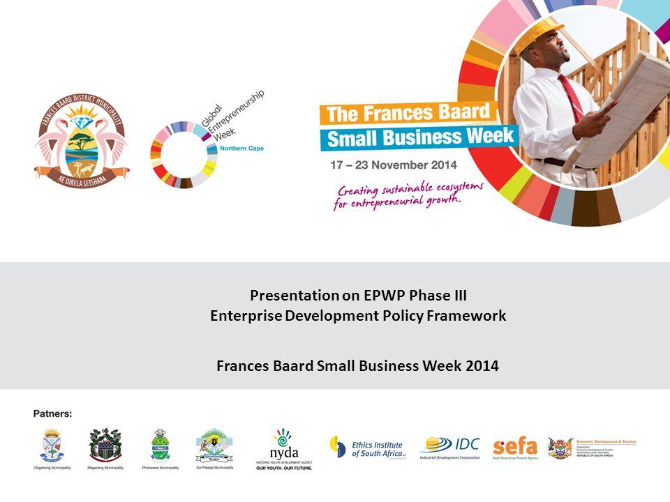 epwp phase 3 business plan