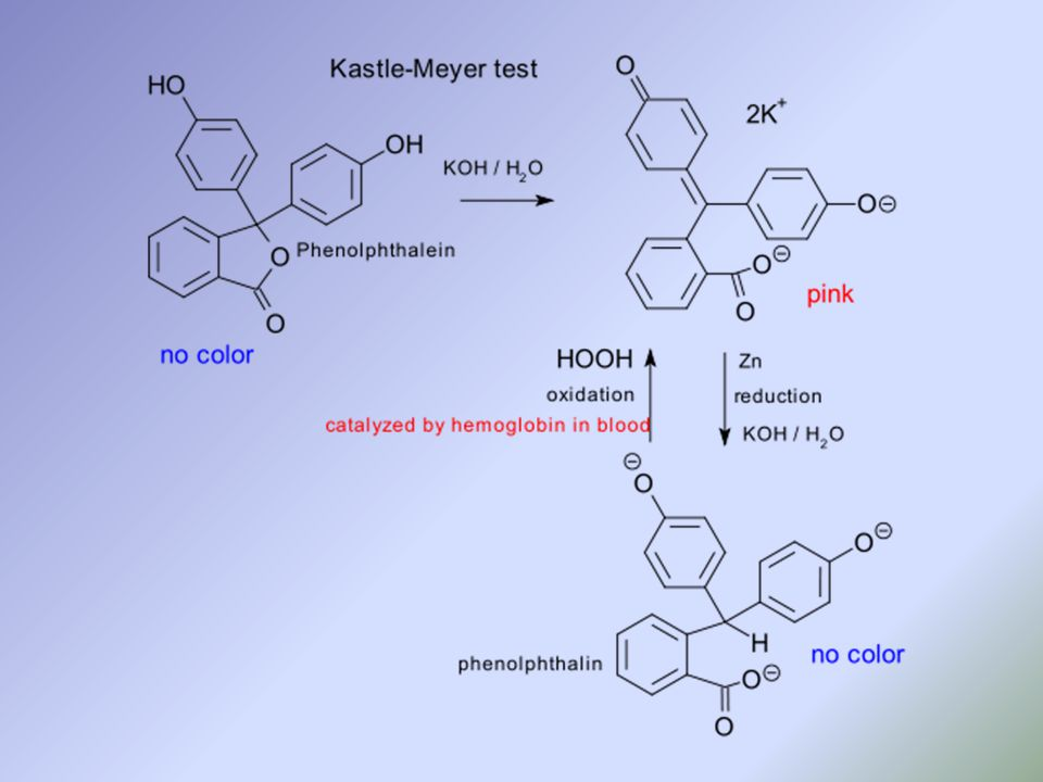 leucomalachite green presumptive test