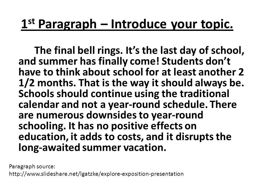 persuasive essay introduction paragraph