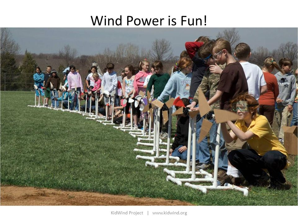 KidWind Project |   Wind Power is Fun!