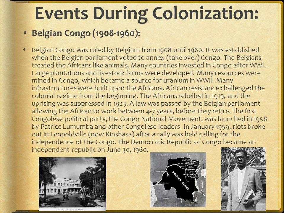 congo colonization