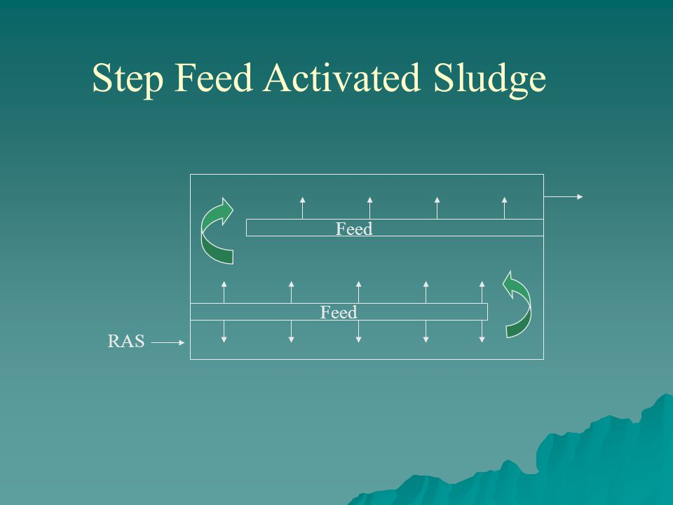Step Feed Activated Sludge Feed RAS Feed