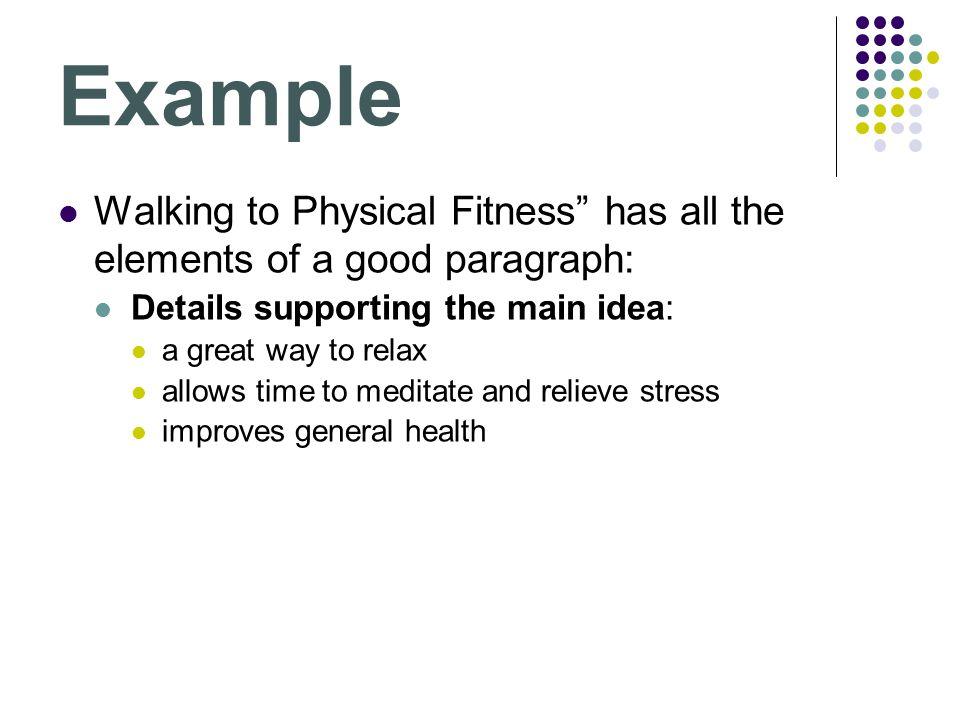 good health paragraph