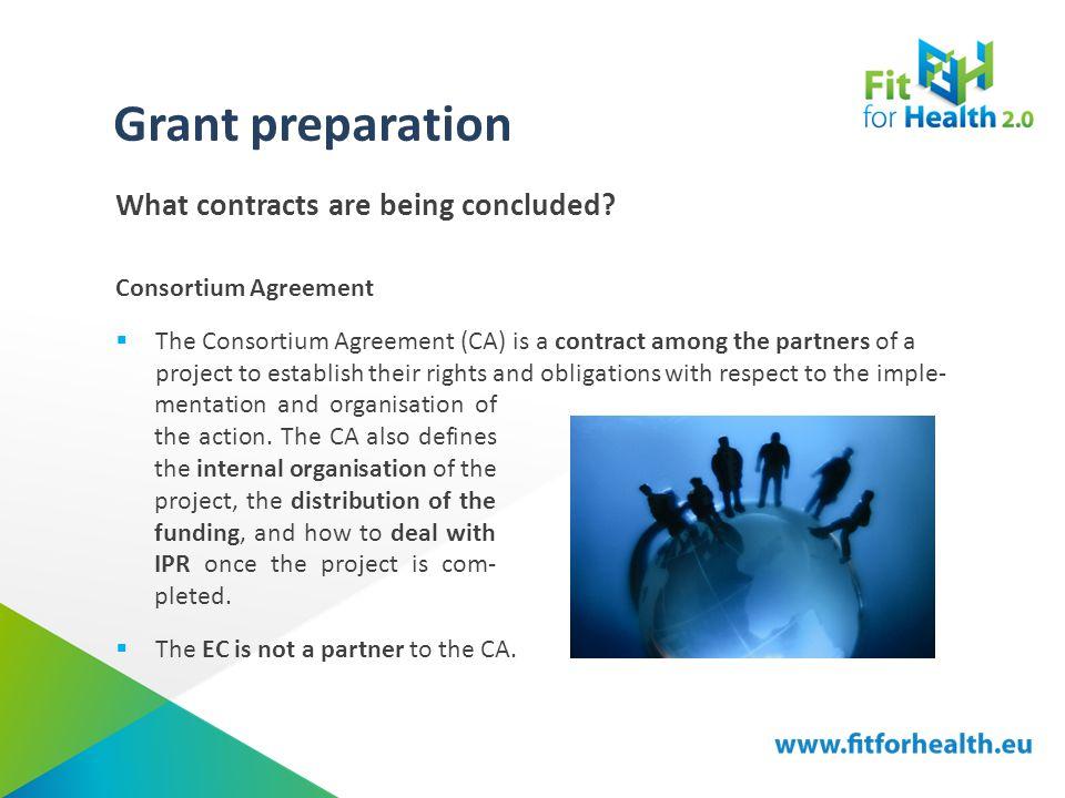 Tutorial Grant Preparation Project Management Grant Preparation