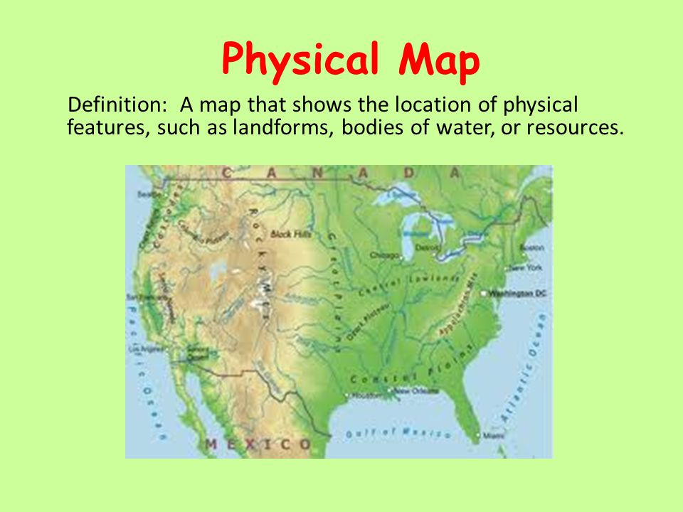 Physical Map Definition Physical Maps Definition | compressportnederland Physical Map Definition