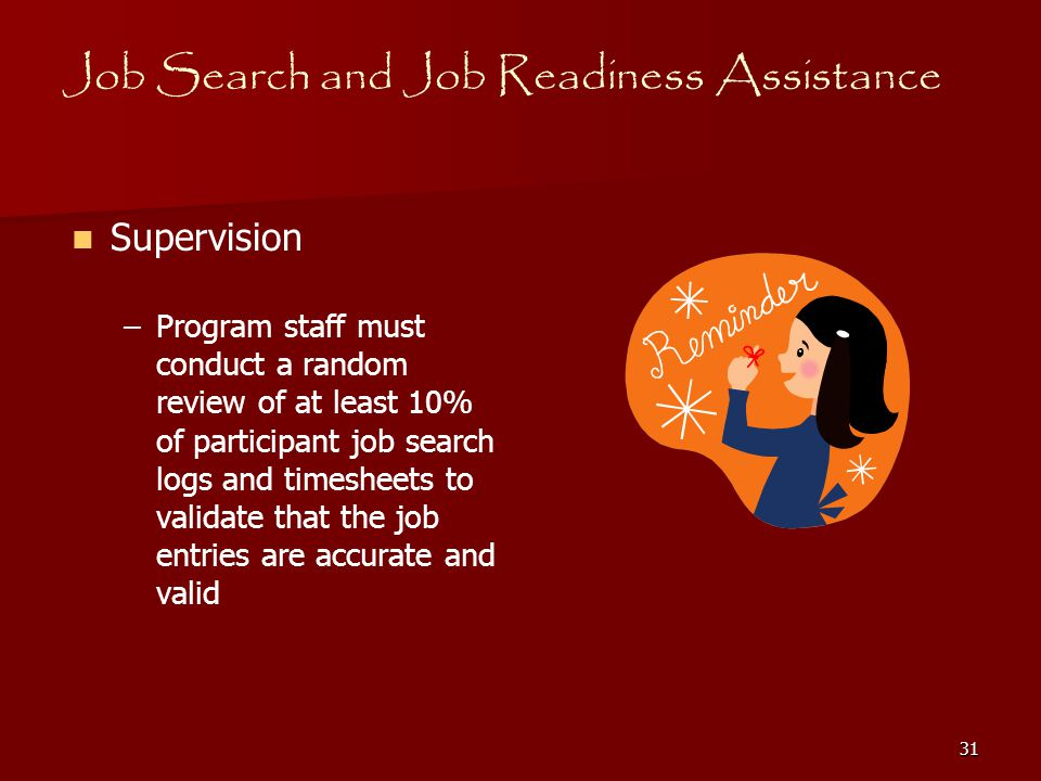 1 job search job readiness assistance job search and job readiness