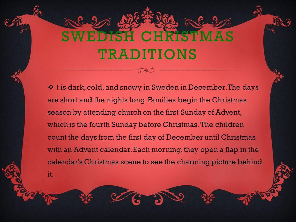 Sweden Come Visit Us Christmas Around The World Sweden Ppt Download