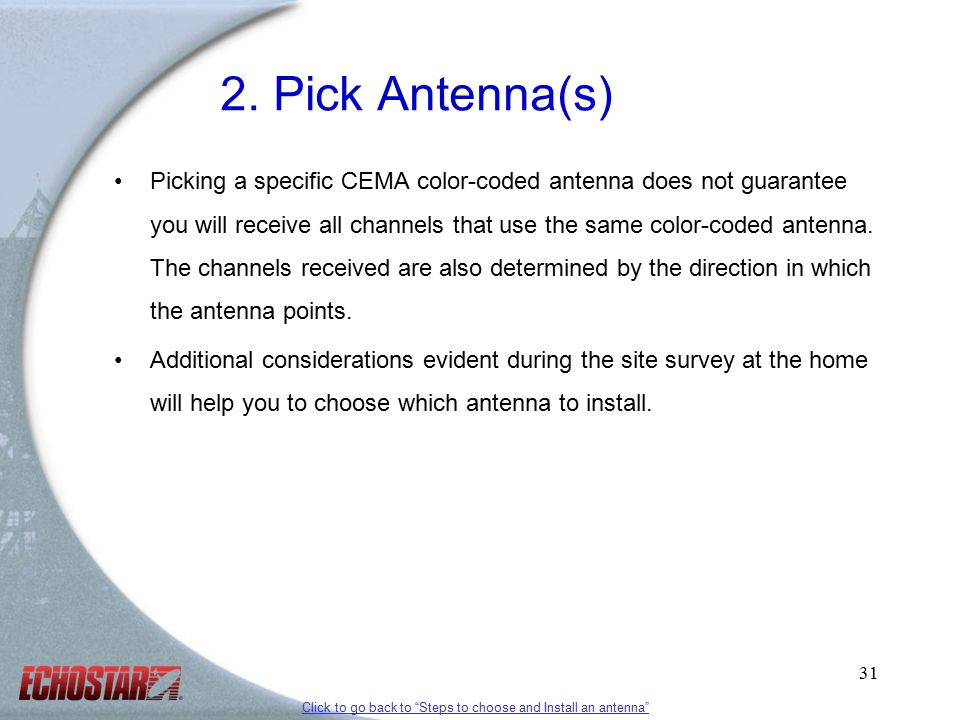 1 Over-the-air (OTA) Antenna Installation Training Revised 2